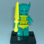 Masters of the Universe Merman Lego style Minifigure